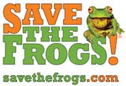 Save the Frogs, partner of Fast Haul trash hauling services