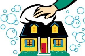 clean home, clean environment