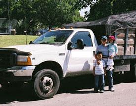 Oakland Hauling Truck