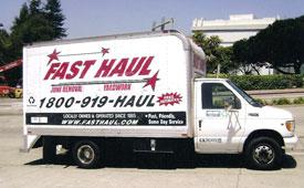San Francisco Hauling Truck