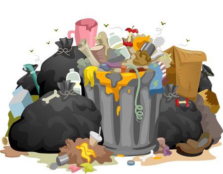 Berkeley garbage pile
